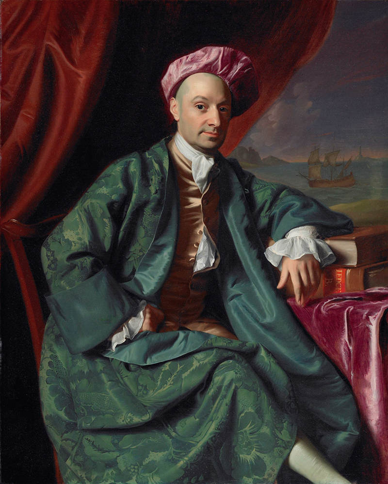 Nicholas Boylston, by John Singleton Copley (1769)