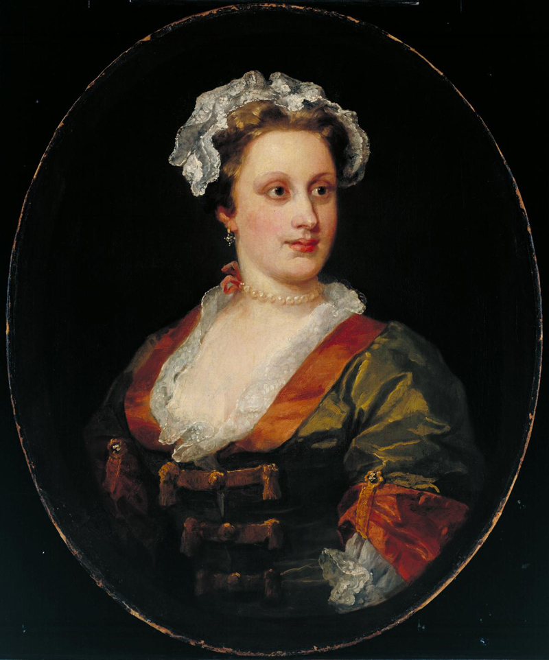 Lavinia Fenton, Duchess of Bolton, by William Hogarth (1740-50)