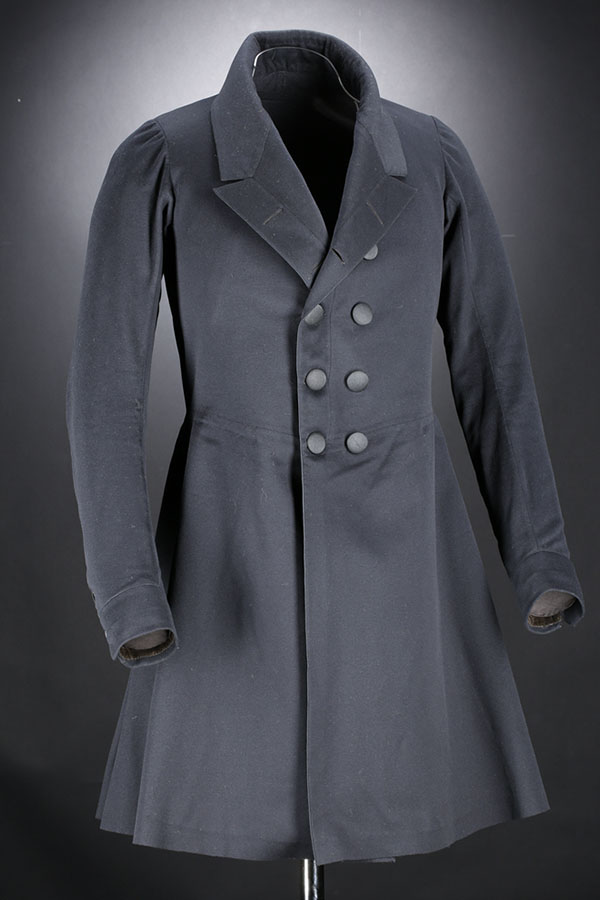 Men's Antique Victorian Wool Frock Coat Day Dress Coat